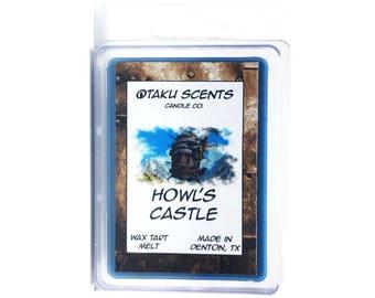 Howl's Castle - Scented Soy Anime Wax Melt Tart - Howl's Moving Castle