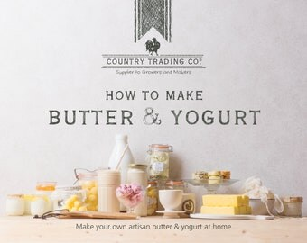 Country Trading Co. How to Make Butter & Yogurt - Book