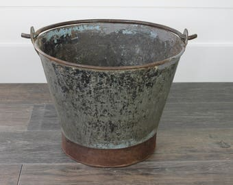 Iron Bucket with Handle