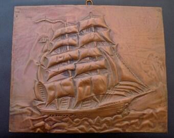 Copper Wall Art copper relief art | etsy