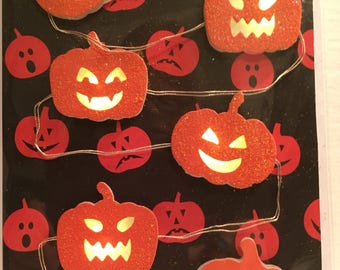 Halloween Lighted Card