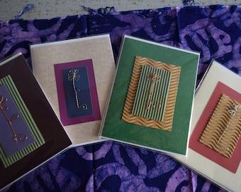 Handmade Flower Cards