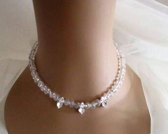 Marquise Diamond & Crystal Necklace