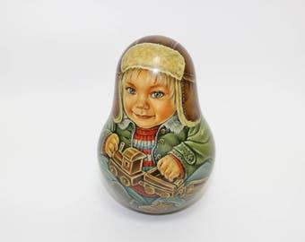 Nesting doll 14см