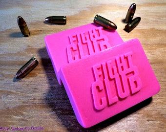 Fight Club Soap-Mens Gift- Party Favor-Movie Soap-Tyler Durden-Mens Soap-Party Favor-Original Shape of Soap