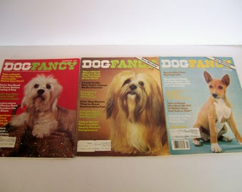 Dog Fancy Magazine January, May, December, 1981