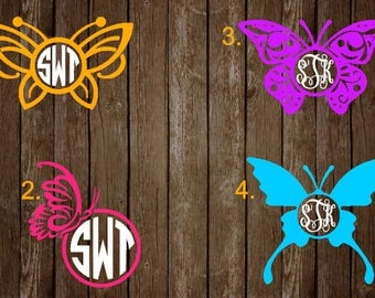 Butterfly Monograms