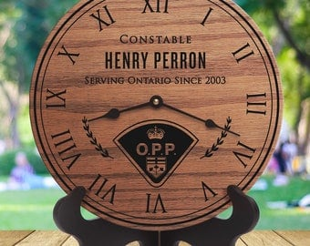 Ontario Provincial Police - Ontario Police Officer - Retirement Gift - Custom Names - Retirement - Training - Academy - Constable - Cadet
