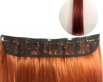 One Piece Red Hair Extension