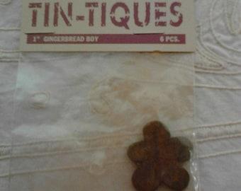 Rusty Tin-tiques Gingerbread Boy
