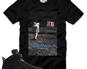 UNC 6 Moonwalk T-Shirt