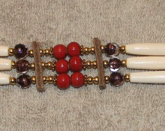 Choker with Glass Beads ch8