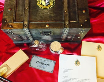 Hogwarts chest, Harry Potter chest, Wizard chest with Themed contents. Almost SOLD OUT!