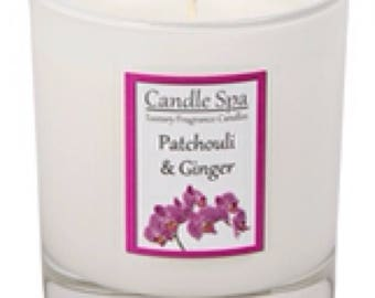 30cl (200g) candle - Patchouli & Ginger