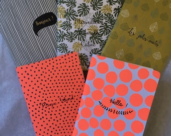 A5 notebook: choice