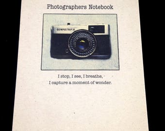 Photographers Note Pad