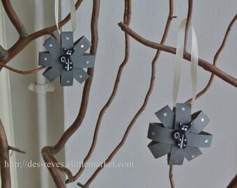 Decoration - Item to hang - plant Decoration, branch - black cat