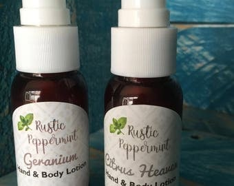Hand and Body Lotion, Natural lotion, hand cream, vegan lotion,