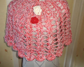 Heater shoulder woman crochet handmade