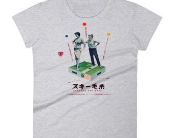 Japanese Surreal Advertising Tshirt Vintage