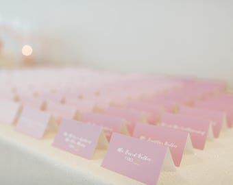 Ombré Place Cards