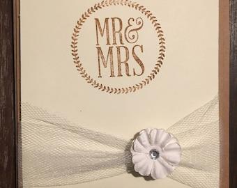 Wedding cards, handmade,