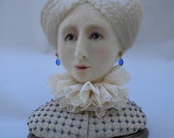 """Needle felted Doll. """"Lady Christine"""""""