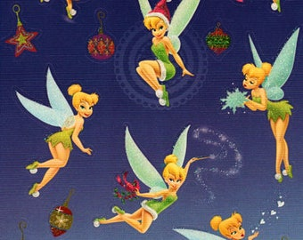 Disney Christmas Tinkerbell Sandylion Scrapbook Stickers Embellishments Cardmaking Crafts 4x6 Inch Sheet