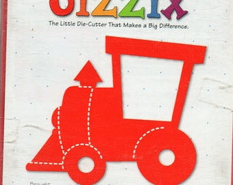 Train Sizzix Die Cutter Scrapbook Embellishments Cardmaking Crafts