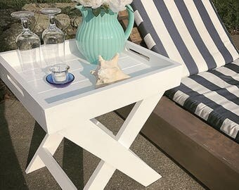 Outdoor Side Table Etsy