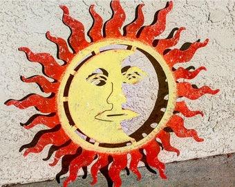 Sun Wall Art | Etsy