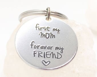 Mother Daughter Gift, Gift for Mom from Daughter, Mom KeyChain, Gift for Mom, Mom Gift