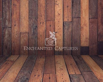 wooden digital backdrop, wood, floor, wall, newborn, children, boys, girls, darker rustic colors, mock up, mockup