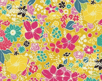 Fashion Scent Abloom - Abloom Fusion Collection by AGF Studio from Art Gallery Fabrics - Floral Fabrics - Art Gallery Fabrics -Abloom Fabric