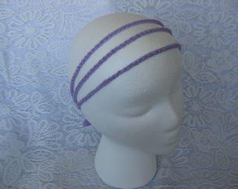 Simple Crochet Tie Headband