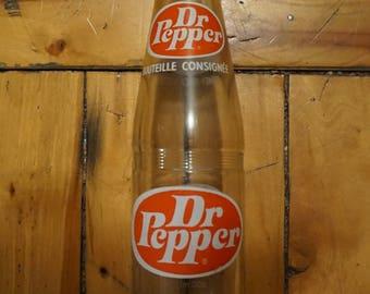Dr Pepper Antique Vintage Soda Bottle