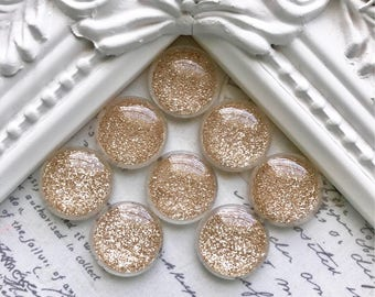 Champagne Gold Glitter Magnets or Pushpins, Pushpins, Magnets, Glitter Pushpins, Decorative Pushpins, Gold Magnets, Glitter Magnets