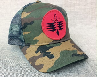 UNS Tribal patch design, Camouflage Country Cap