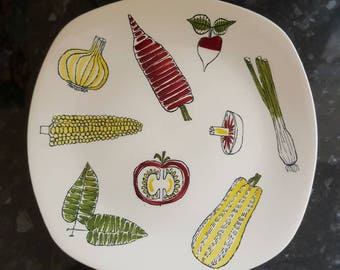 Midwinter Stylecraft Salad Ware Plate Terence Conran