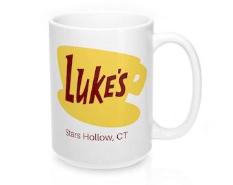 Lukes Diner Mug, Lukes Diner Coffee Mug, Gilmore Girls Mug, Best Friend Gift, Stars Hollow