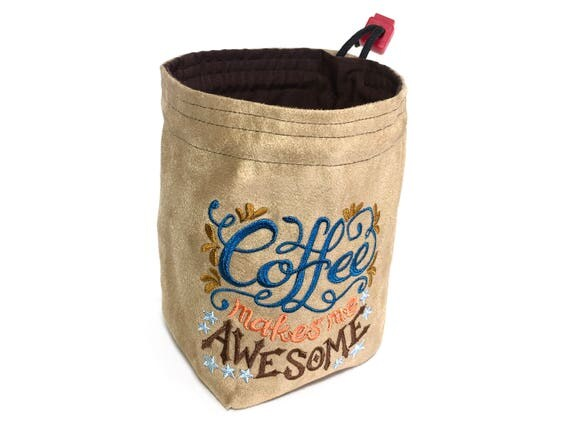 Dice Bag - Coffee Makes Me Awesome