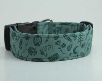 Campfire Stories Dog Collar