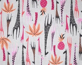 Michael Miller GIRAFFES kids patchwork fabric