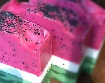 Watermelon Cold Processed Soap