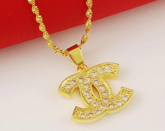 Chanel Necklace 24KGold