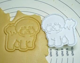 Bichon Frise  Cookie Cutter and Stamper