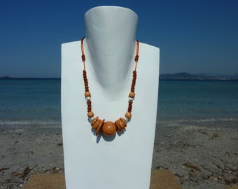 Adjustable necklace collection NOSARA with silver clasp