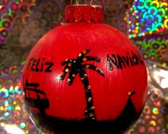 Feliz Navidad (ornament)