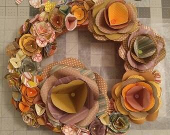 Handcrafted flower wreaths