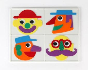 Vintage Jigsaw Puzzle-Cartoon jigsaw-Euro plastics/Ambi Toys, No. 5561